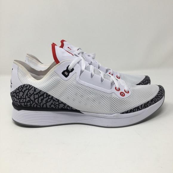 premium selection beef3 22a9a AP35 Jordan 88 Racer Nike 8 Mens White Cement